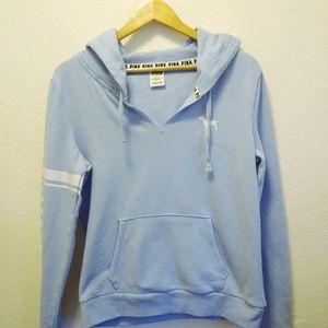Victoria's Secret PINK Blue Pullover Hoodie